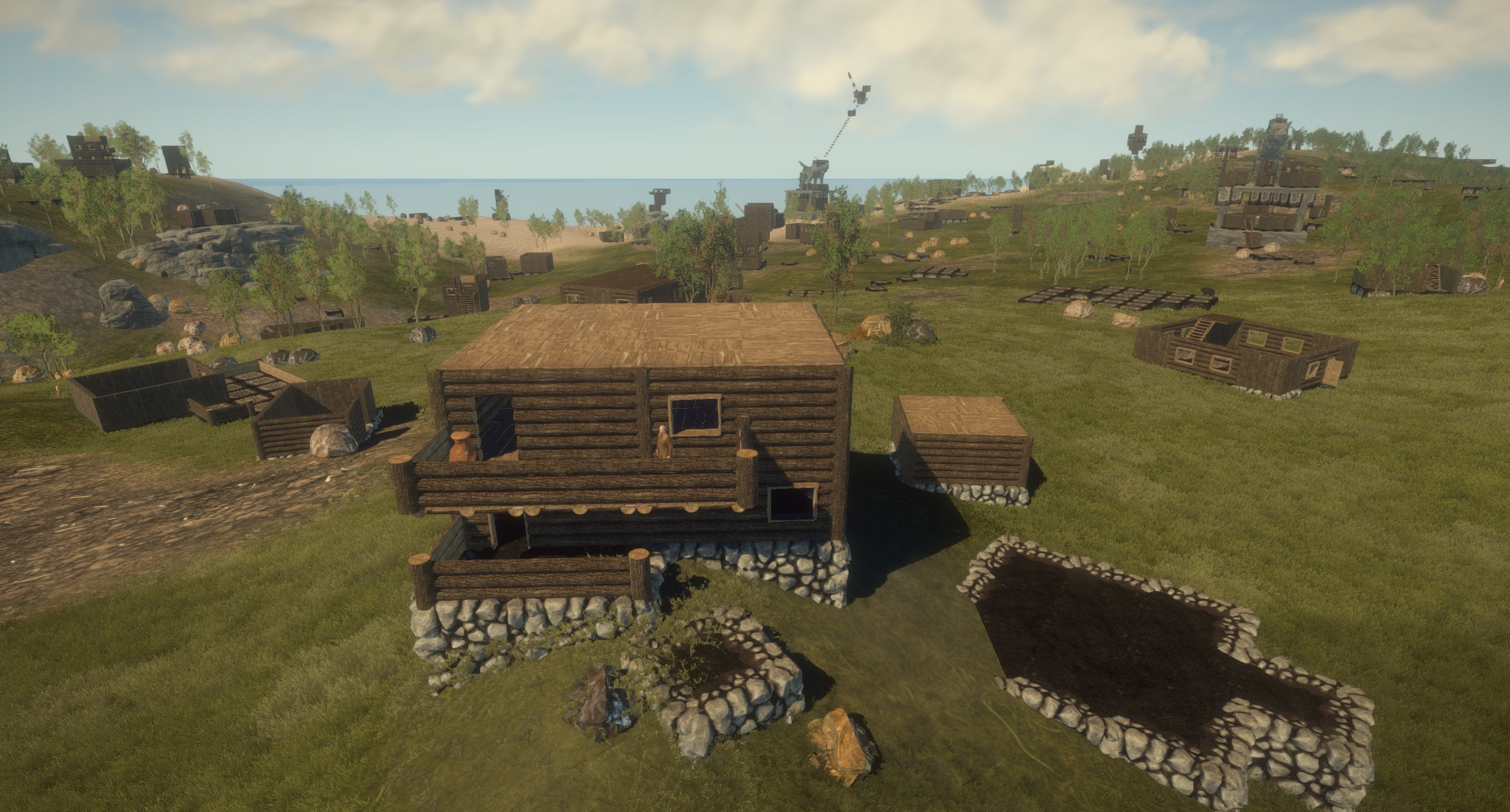 Rust Game Map