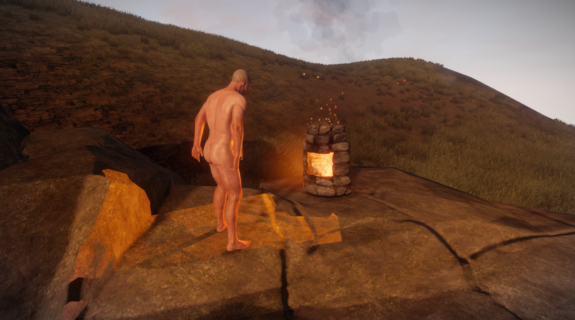 how to get rid of sleeping bags in rust