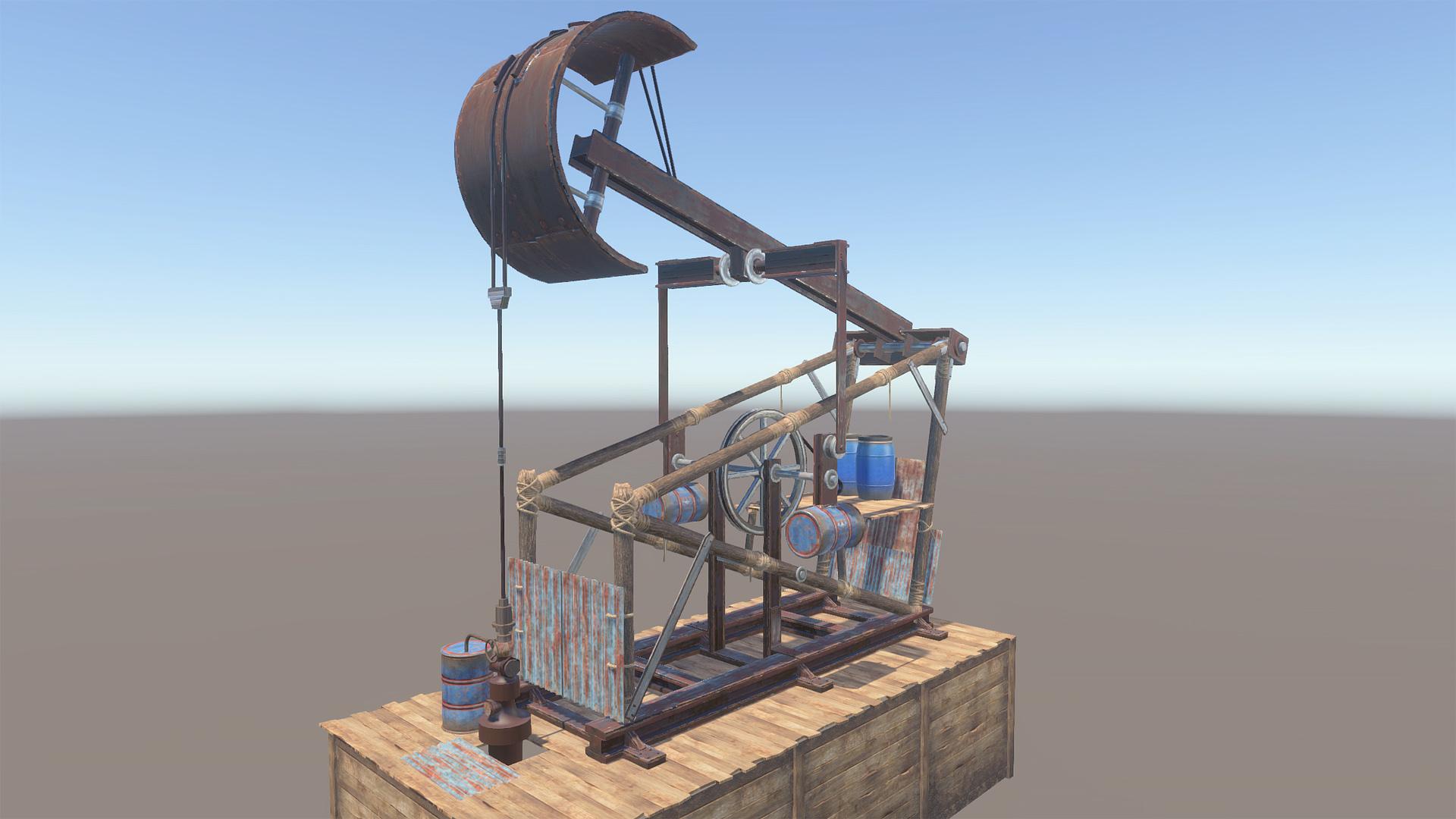 Ark Pompe A Petrole The Island