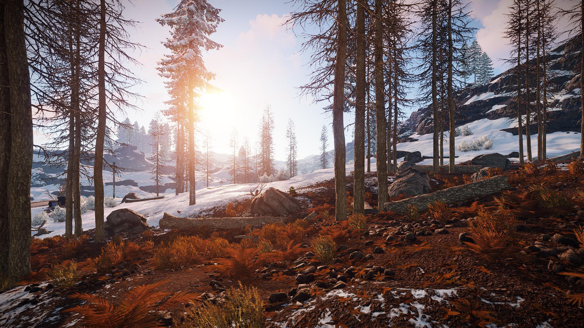 Rust Full Release Snow Screenshot