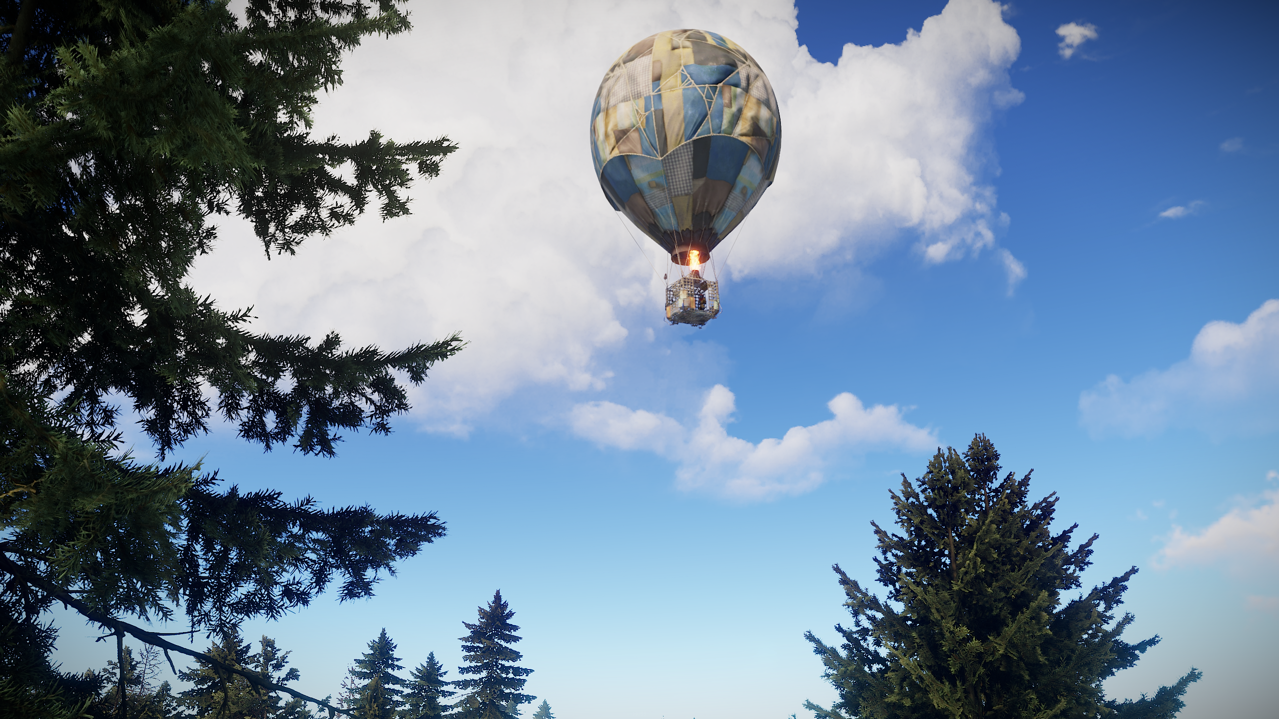 The Hot Air Balloon Update – Venus Rust Server