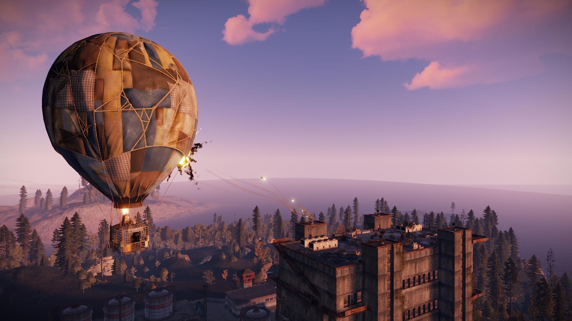 The Hot Air Balloon Update   Rust   Facepunch