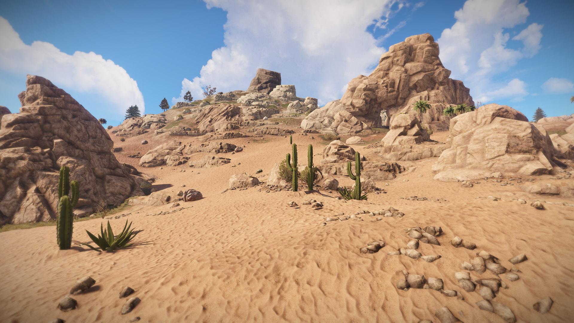 Rust Full Release Desert Screenshot