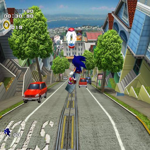 Sonic Adventure 2: City Escape