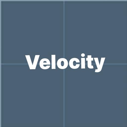 Velocity test map