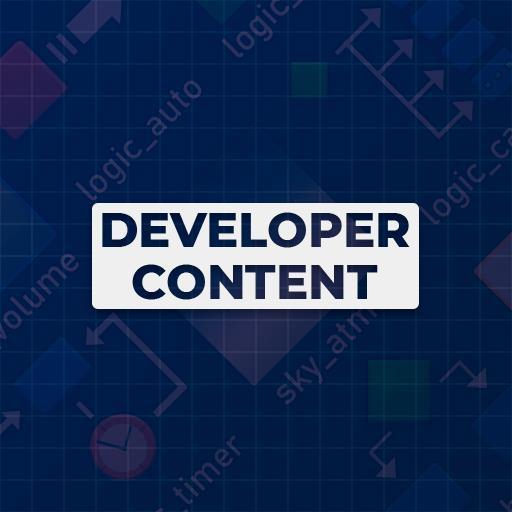 Developer Content