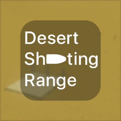 Desert shooting range